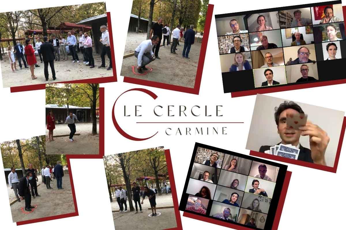 Le Cercle Carmine - souvenirs en image
